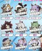 Azur Lane - Character Straps set of 9