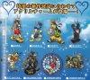 Kingdom Hearts - Acrylic Charm Set of 8