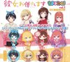 Rent A Girlfriend - Rubber strap and Can Badge Collection Set of 8