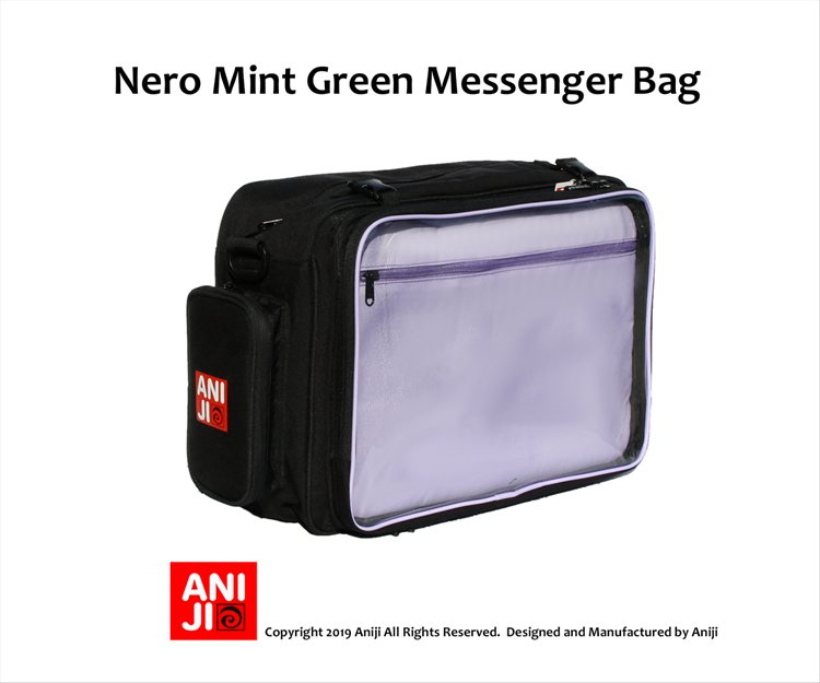 Aniji Bags - Nero Purple Messenger Bag