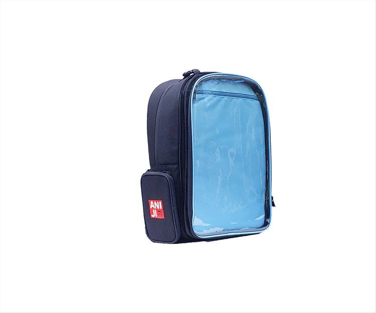Aniji Bags - Echo Blue Backpack