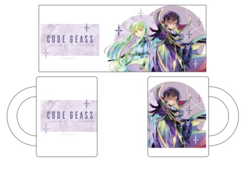 Code Geass - CC and Lelouch Mug