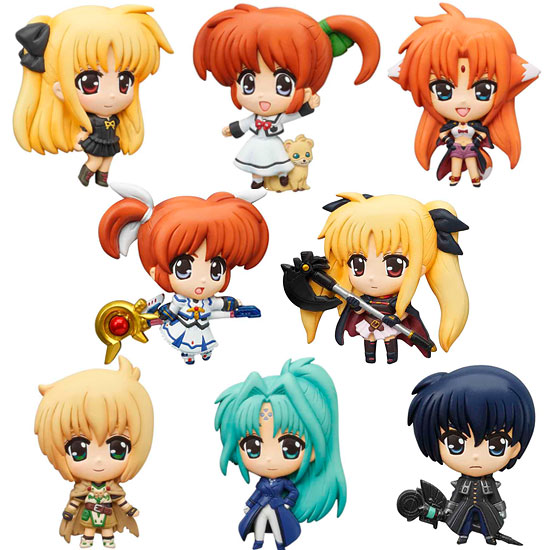 Magical Girl Lyrical Nanoha - The 1st Movie Mascot Magnets