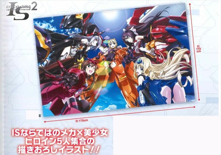 Infnite Stratos 2 - Infinite Stratos Character Wall Poster