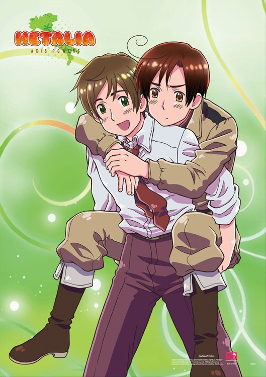 Hetalia- Group 3 Wall Scroll