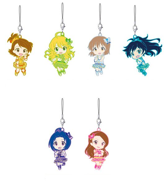 Idol Master One for All - Nendoroid Plus Rubber Straps Stage B - Single BLIND BOX