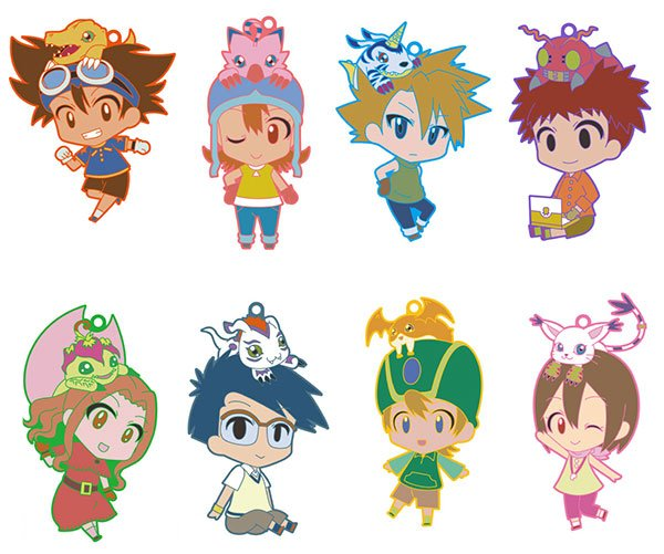 Digimon - Rubber Straps - Single BLIND BOX