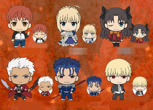 Fate Stay Night Unlimited Blade Works - Picktam Rubber Straps - Single BLIND BOX