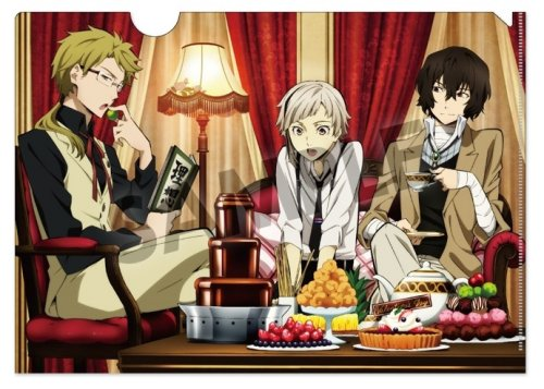 Bungou Stray Dogs - Sweet Time Clear File Size A4