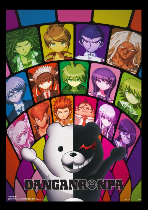 Dangan Ronpa The Animation - Hopes Peak Academy Students Wall Scroll Re-Release