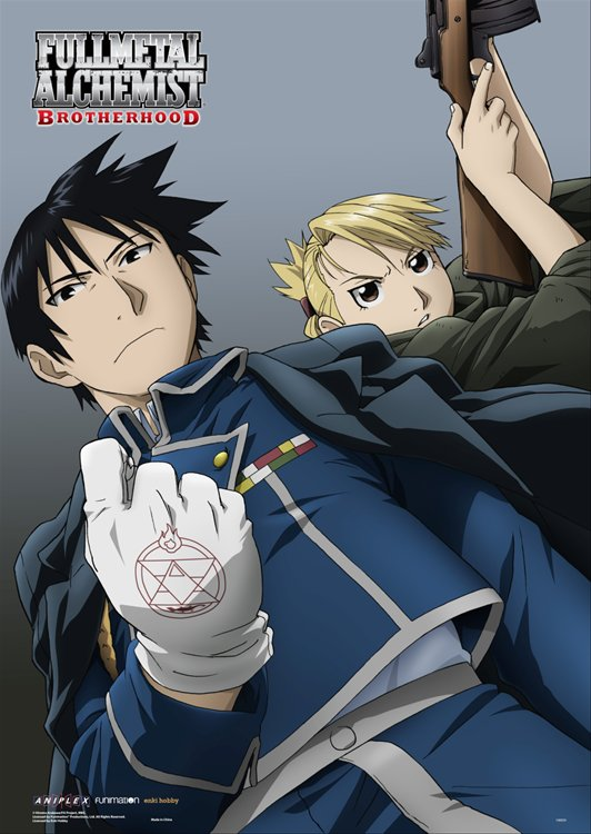 Fullmetal Alchemist- Mustang and Hawkeye Wall Scroll Re-Release