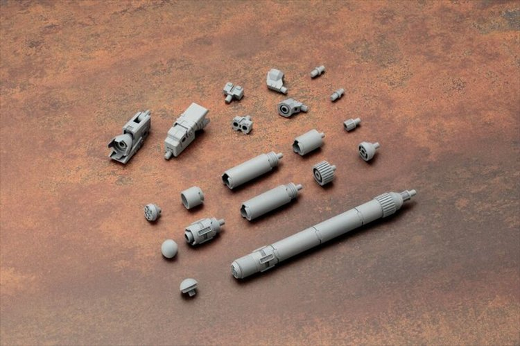 Modeling Support Good - Mecha Supply MJ04 Propellant Tank Type-Round