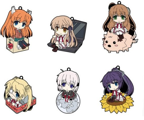 Rewrite - CharaRIDE Rubber Keychain Single BLIND BOX