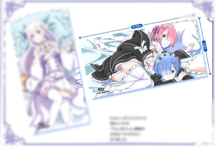 Re:Zero - Towel Rem and Ram