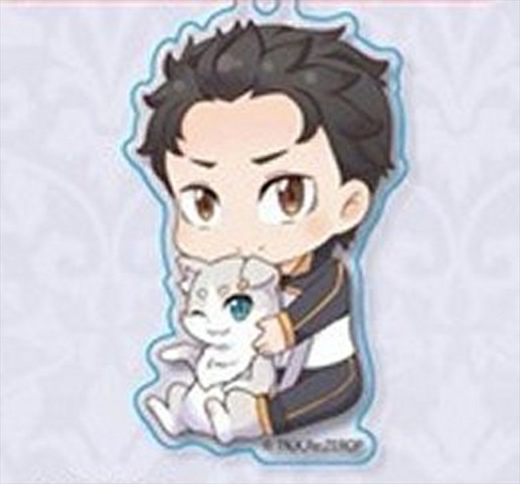 Re:Zero Starting Life in Another World - Subaru w Pack Acrylic Keychain