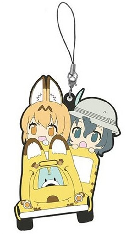 Kemono Friends - Serval and Kaban Keychain
