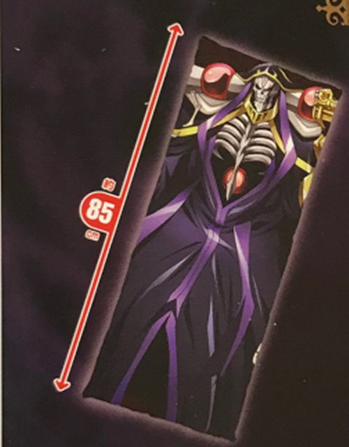 Overlord - Ainz Ooal Gown Cloth Body Pillow