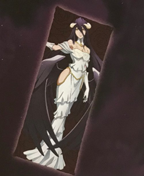 Overlord - Albedo Cloth Body Pillow