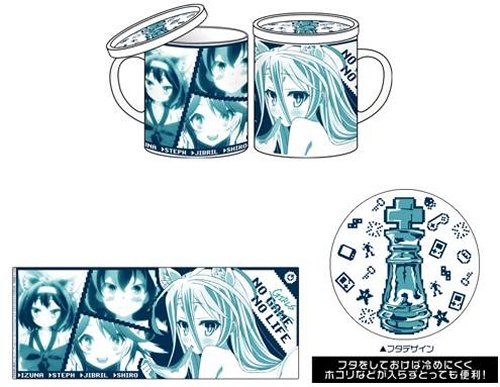 No Game No Life - Cospa Mug with Lid Re-release