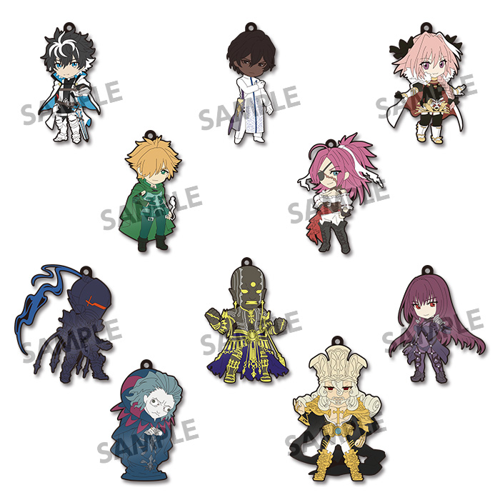 Fate/EXTELLA Link - Pikuriru Trading Rubber Strap Single BLIND BOX