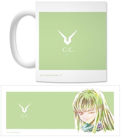 Code Geass: Lelouch of the Rebellion - C.C Color Mug