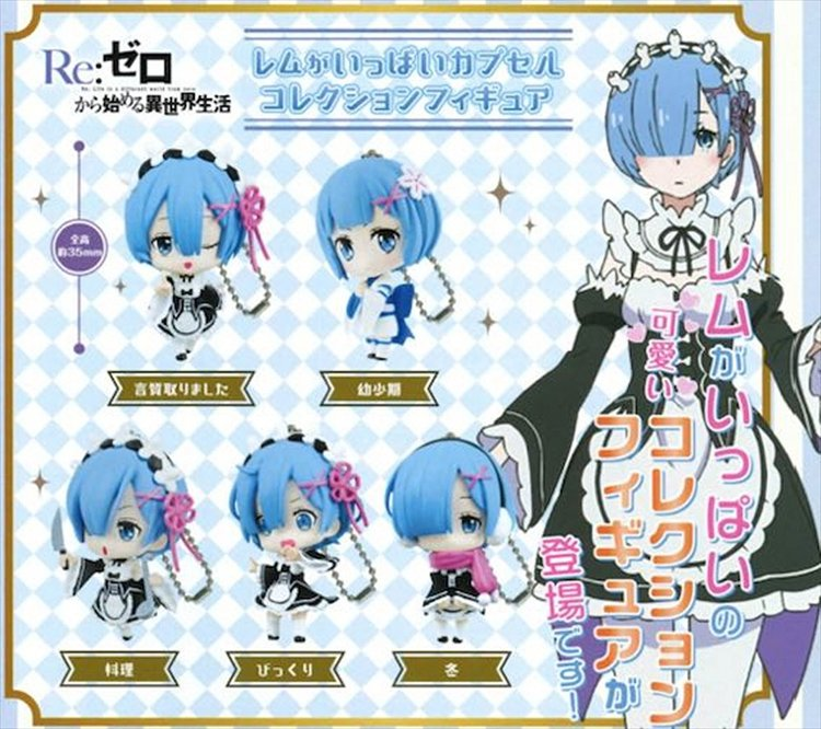 Re:Zero Starting Life in Another World - Ram Character set of 5