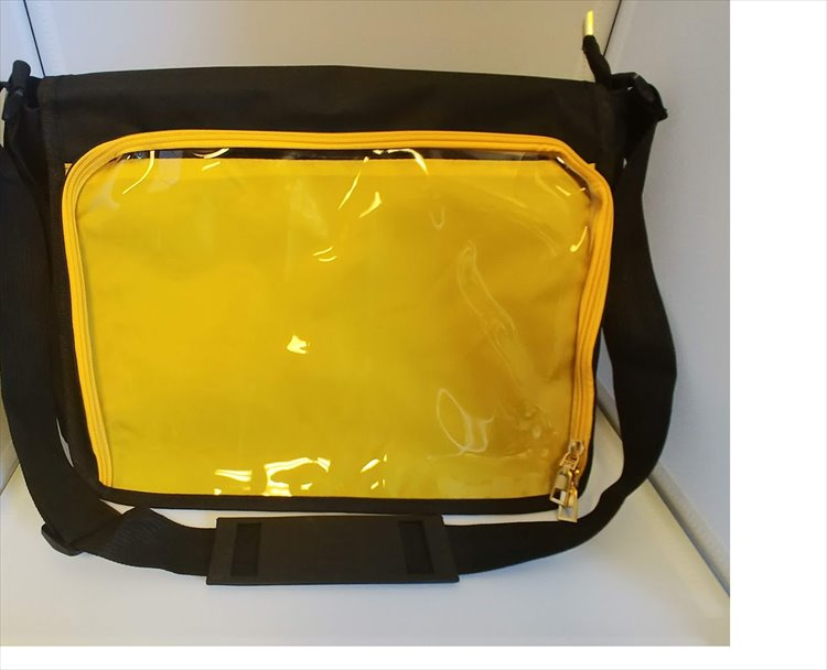 Aniji Itabag - Changable Messenger Bag Yellow