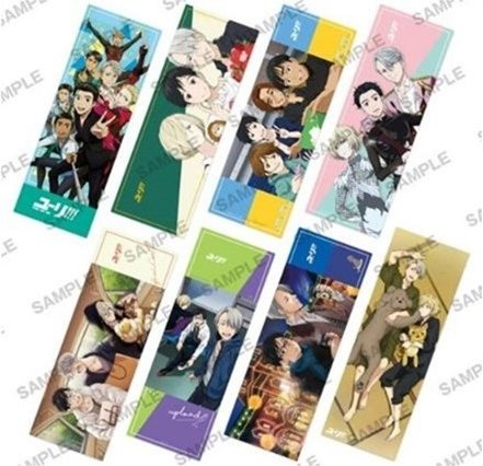 Yuri On Ice - Pos x Pox Trading Posters Vol. 2 Single BLIND BOX