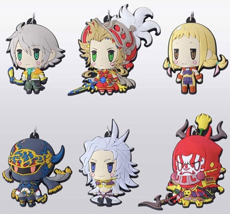 World of Final Fantasy - Trading Rubber Strap Vol.5 Single BLIND BOX