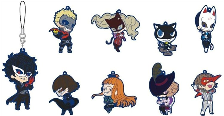 Persona 5 - Rubber Strap Collection SINGLE BLIND BOX