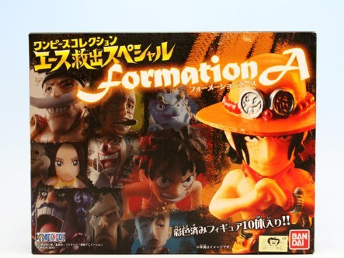 One Piece Collection Formation Ace Figure Set of 10