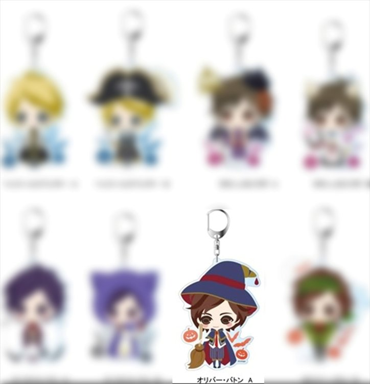 Oujisama no Propose Eternal Kiss - Oliver Button A Deka Keychain