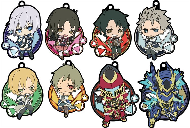 Knights and Magic - Rubber Strap Collection Single BLIND BOX