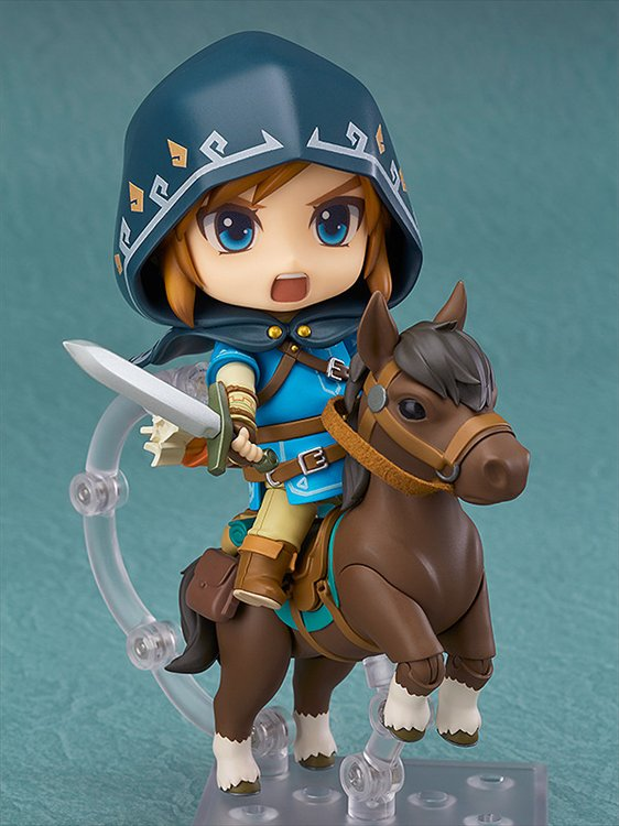 The Legend of Zelda Breath of the Wild - Link Nendoroid DX Edition Re Run