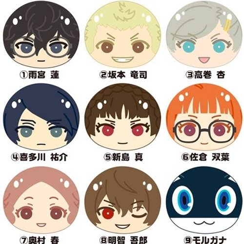 Persona 5 - Omanjuu Niginigi Mascot Single BLIND BOX