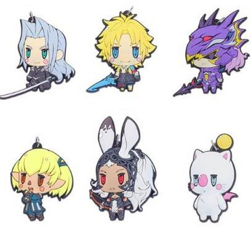 Final Fantasy - Character Rubber Straps Vol. 3 Singgle BLIND BOX
