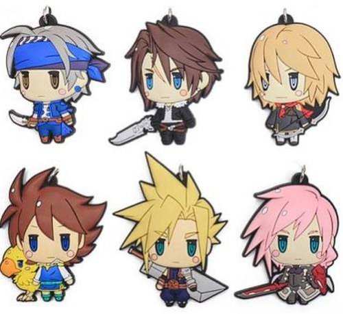 Final Fantasy - Character Rubber Straps Vol. 1 Singgle BLIND BOX