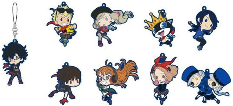 Persona 5 - Rubber Strap SINGLE BLIND BOX