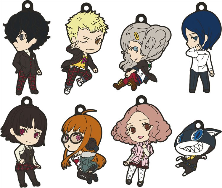 Persona 5 - Nendoroid Plus Rubber Strap SINGLE BLIND BOX