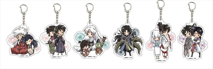 Inuyasha - Acrylic Keychain SINGLE BLIND BOX