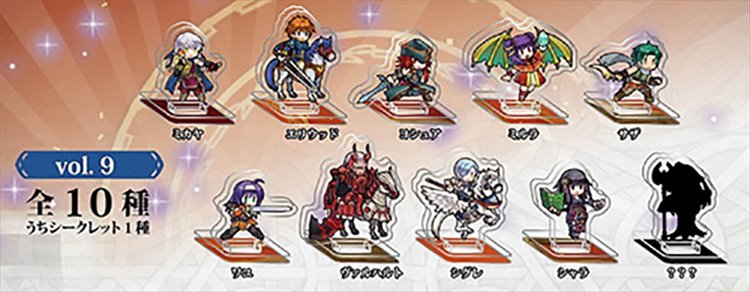 Fire Emblem Heroes - Mini Acrylic Figure collection Vol.9 Single BLIND BOX
