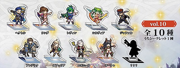 Fire Emblem Heroes - Mini Acrylic Figure collection Vol.10 Single BLIND BOX