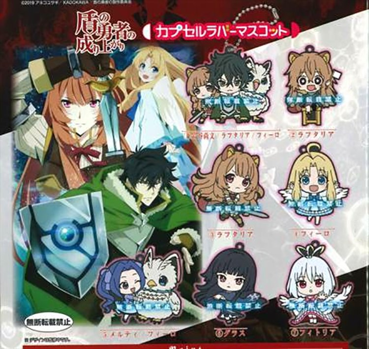 The Rising of Shield Hero - Rubber Mascot Set of 7