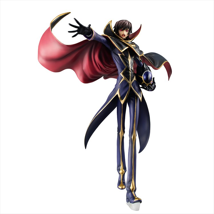 Code Geass the Re:surrection ZERO - Lelouch GEM Figure