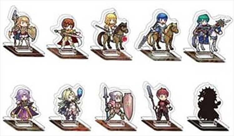 Fire Emblem Heroes - Mini Acrylic Figure collection Vol.4 Single BLIND BOX