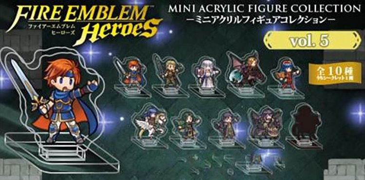 Fire Emblem Heroes - Mini Acrylic Figure collection Vol.5 Single BLIND BOX