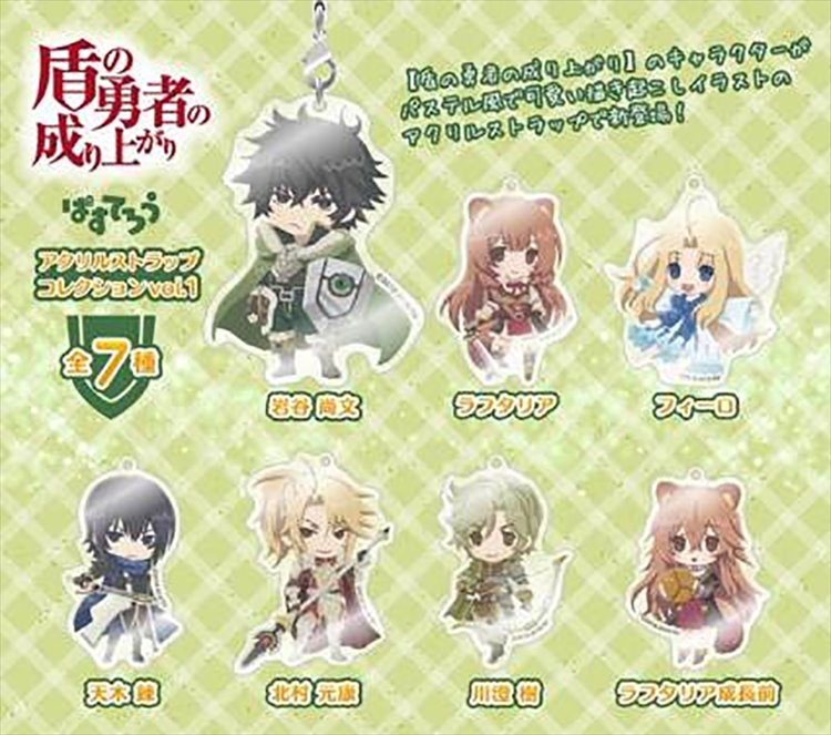 The Rising Of The Shield Hero - Acrylic Strap SINGLE BLIND BOX