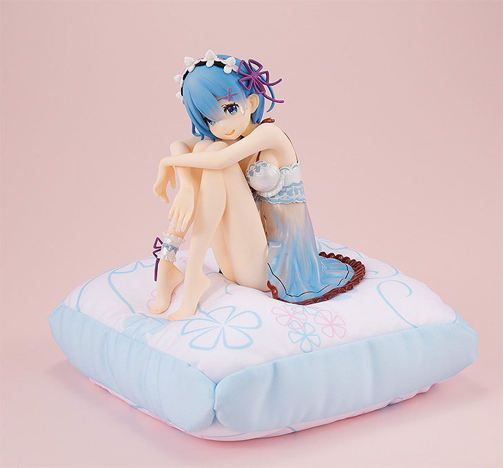 Re:Zero Starting Life In Another World - 1/7 Rem Birthday Blue Lingerie Ver. PVC Figure