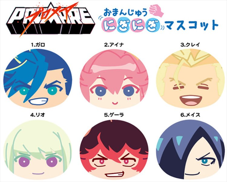 Promare - Mochi Mochi Mascot SINGLE BLIND BOX