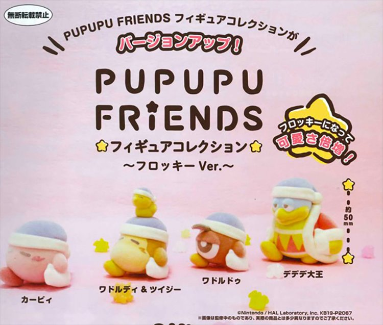 Kirby Adventures - Figure Collection Flocky Ver. Set of 4